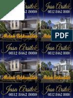 HARGA TERBAIK !!!, 0812 8462 8080 (Call/WA), Jasa Arsitek Rumah Minimalis Jakarta