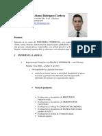 Carlos a. Rodriguez C.V