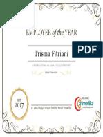 Employee of the YEAR Trimedika 2017