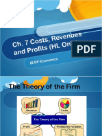 Ch6 Theory of Firm