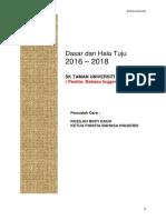 Perancangan Strategik Bi 2015