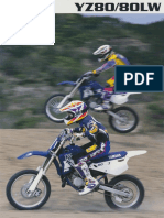 1997 Yz80 Yz80lw Brochure UK