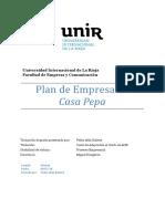 Plan de Empresa Casa Pepa