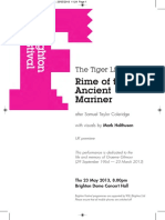 Rime of the Ancient Mariner Performance
