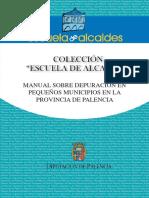 MANUAL SOBRE DEPURACIÓN EN PEQUEÑOS MUNICIPIOS EN LA PROVINCIA DE PALENCIA