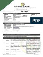 Rptsyllabusutm Geometría Descriptiva 2018(2)-Converted