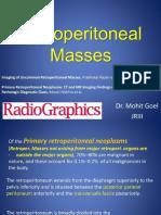 Retroperitoneal Masses Radiology
