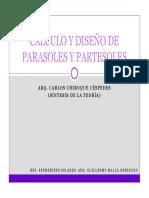 Parasoles y Partesoles