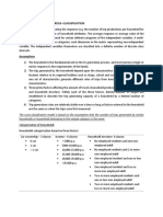 Category Analysis or Cross Classification Notes