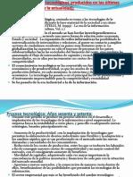 Cambios Tecnológicos Desde 1960-2018 y Su Influencia, punto de vista sociológico.