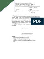 Surat Pemberitahuan Survey Filariasis