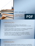 Ebd Semear - Lição 1