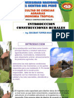 INTRODUCCION DE CONSTRUCCION RURAL