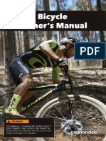 Manual mtb bike