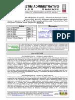 2010-03-30 Boletim_Administrativo_n_16_2010 - REITORIA 134 - Grupo Gestor Edital 15 CAPES