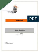 Manual Template - Gestão de Equipas