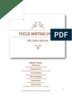 Focus Writing Vault by Md. Arifur Rahman