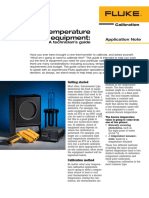 Temp Calibration Equipment FLUKE