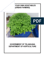 Scheme Guidelines for Urban Vegetabel Farming on Terraces