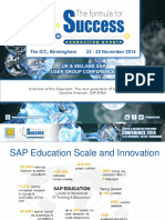 Evolution of the Classroom the Next Generation of SAP Education Caroline Kinsman