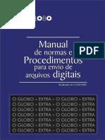 Manual de normas e procedimentos p envio de arquivos digitais - artes graficas