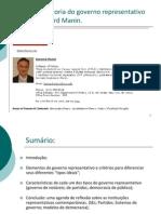 05-Bernard Manin e os princípios do governo representtivo