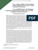 Psicologia Social Ambiental y Urbana