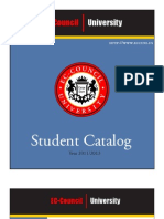 ECCUNI Student Catalog