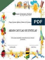 Diploma Primero Basico