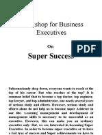 Super Sucess Presentation