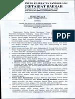 Pengumuman Jadwal Tes CPNS Fix