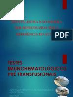 Exames Imunohematolgicos Pr Transfusionai Quixada