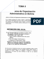 T8 SOA en Bolivia