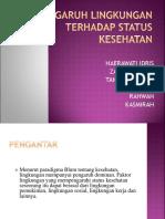 Tugas Kelompok - Environmental Factor in Blum Teory.ppt
