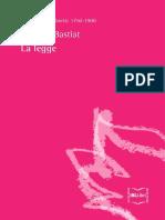 Frederic-Bastiat - La Legge Italian