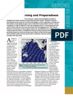 Tsunami Warning and Preparedness Report in Brief