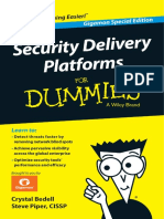 Bk Security Delivery Platform for Dummies