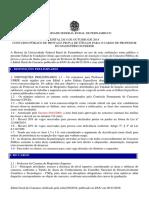 181108 - Edital Geral de Concurso Docente - Retificado Em 08-11-2018