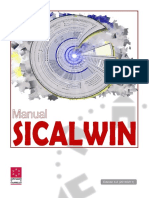 Manual SicalWin 2014