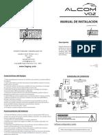Manual de Instalacion Alcom Voz 4-1