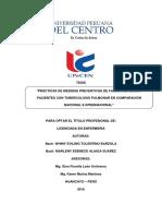 MEDIDAS PREVENTIVAS DE FAMILIARES DE LOS PACIENTES CON TUBERCULOSIS PULMONAR