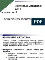 Materi Kuliah Sap - 6 - Administrasi Kontrak