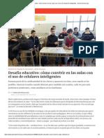Desafío Educativo_ Cómo Convivir en Las Aulas Con El Uso de Celulares Inteligentes • Diario Democracia