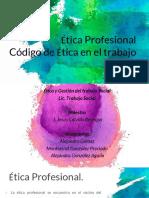 Código de Ética Del Trabajo Social.