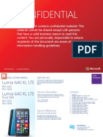 Microsoft Lumia 640 Xl Lte Rm 1062 Rm 1064 Rm 1065 Rm 1096