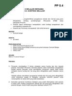 Pp 0.4. Kontrak Belajar