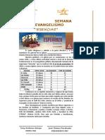 Carta - Evangelismo ESENCIAS - Los Andes