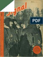 Signal anul 4, nr. 5, martie 1943 ed.romaneasca