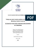 2017 Pinillos Bloques de Yeso Para Construccion
