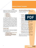 Service Delivery Model Template Master Copy